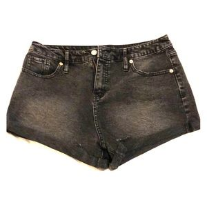 Wild fable black jean shorts